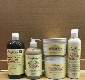 SHEA MOISTURE JAMAICAN BLACK CASTOR OIL HAIR PRODUCTS